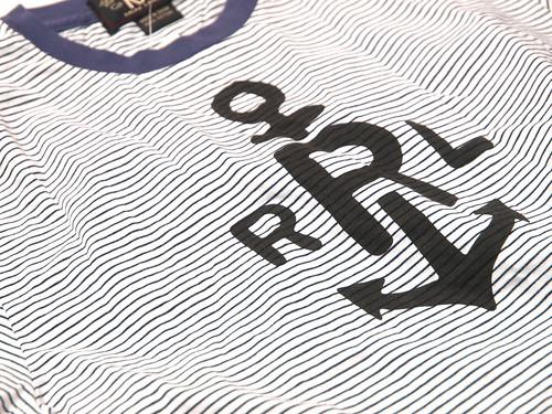 RRL / Striped Anchor Tee