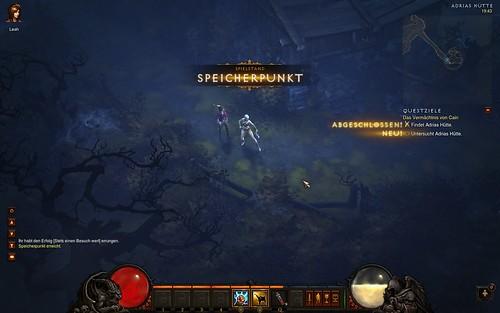 Diablo 3 Speicherpunkt
