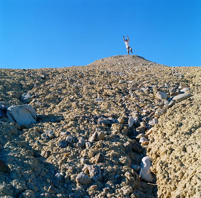 Desert leap, Andrew D. Barron©1/6/12