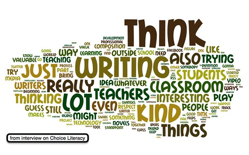 Choice literacy interview wordle