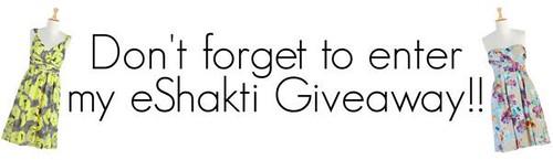 eShakti giveaway