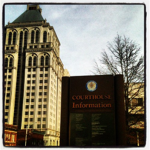Guilford County Courthouse by Greensboro NC