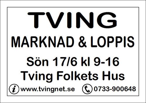 Tving Marknad 2012 - Skylt