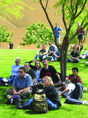 Campus Shade at Chandler Gilbert Community College