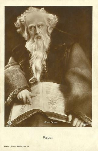 Gösta Ekman, Faust