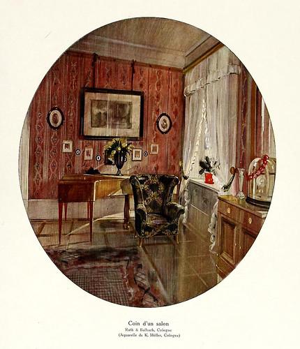 008-120 intérieurs en couleurs…-Principios siglo XX