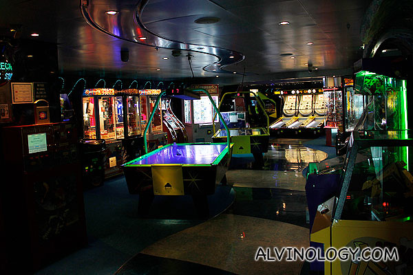 Arcade room for kids
