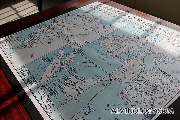 Lan Fang Republic map