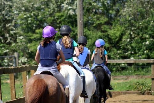 Riding at Franklins Farm