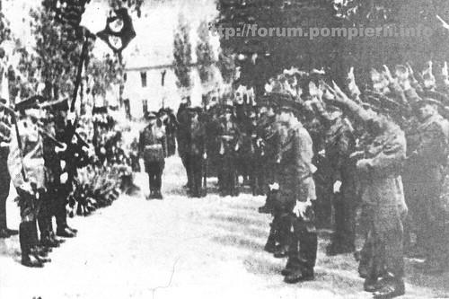 Jurământ recruti pompieri militari -1936