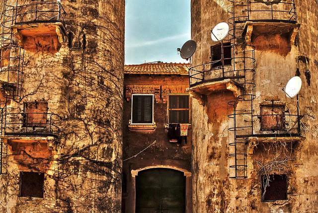 Casali della tenuta di Torre in Pietra (Particolare)