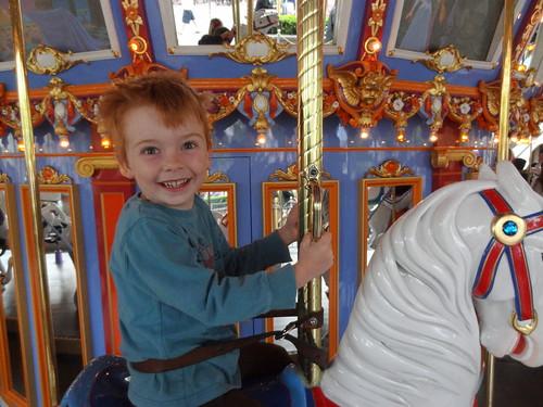 Henry on King Arthur's Carousel