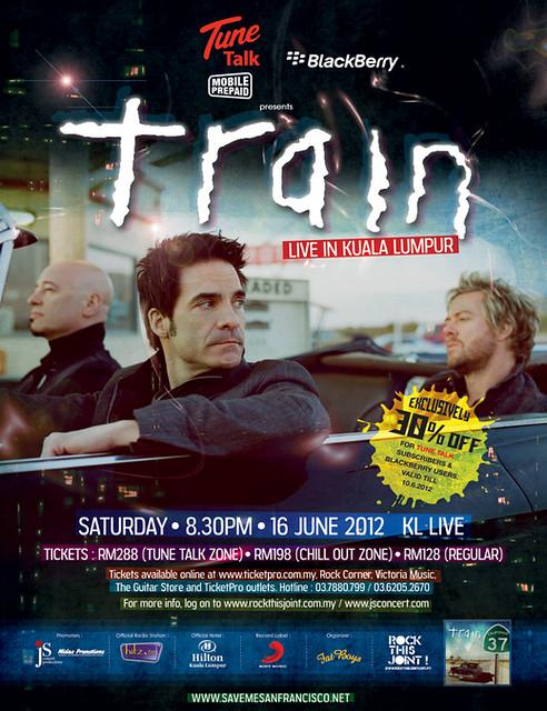 Train Live in Malaysia 2012