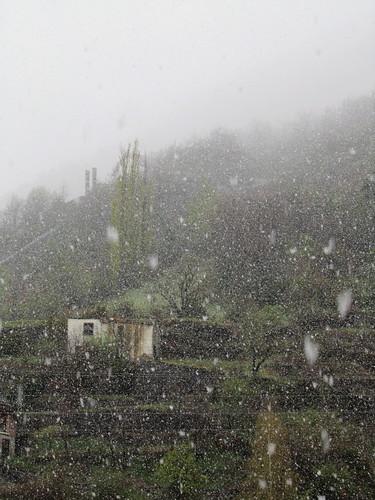 Nieva en la casa de los solitarios by JoseAngelGarciaLanda