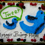 Mike McGuff's Twitter Cake