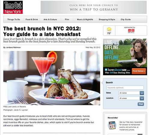 Midnight Brunch in Time Out NY -1