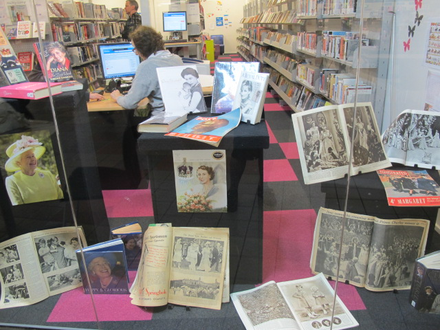 Display, Central South City Library