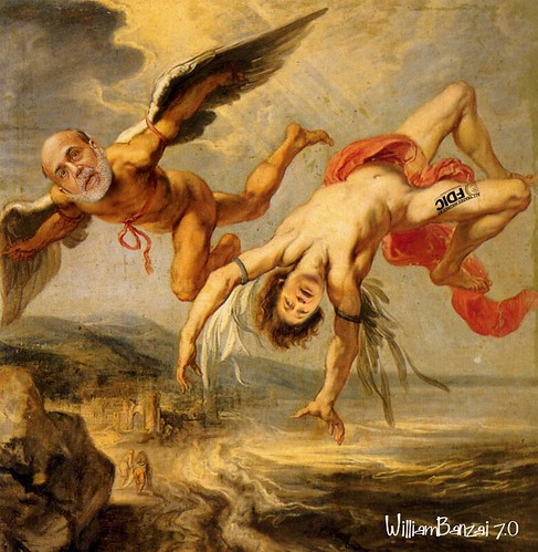 THE FALL OF ICARUS by Colonel Flick