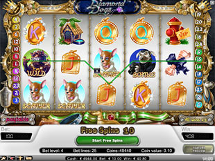 Diamond Dogs free spins