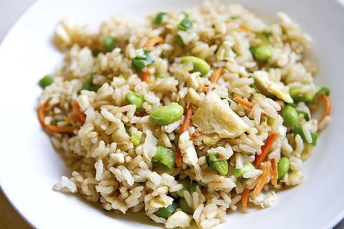 edamame fried rice