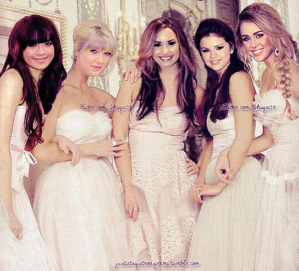 Bridesmaid!! ♥ (new version/re-edit.) -- Demi Lovato ...