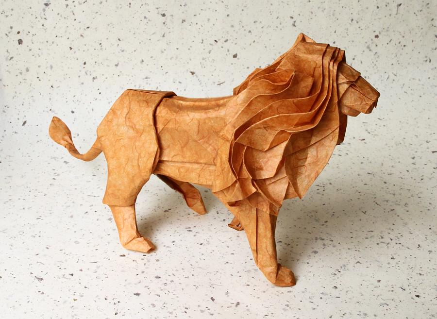 Kamiya Lion Folded By Nankyo Sensei