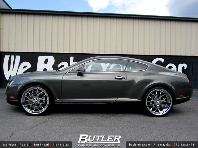Bentley GT with 22in Asanti AF174 Wheels