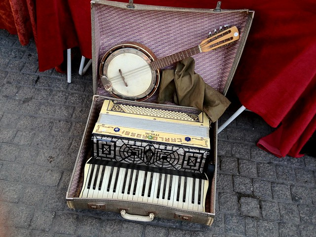 At the Brocante (Antique Market) in Bordeaux