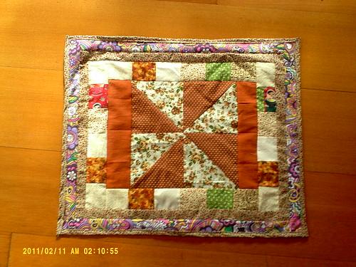 Um tapetinho em Patcwork by Coisando as Coisas by Clau