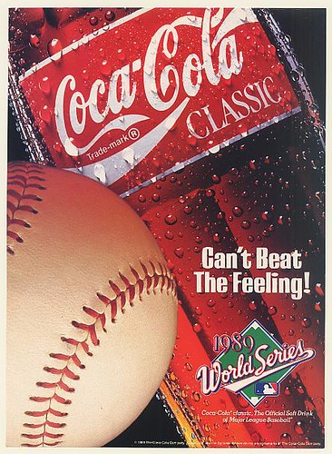 1989 Coca-Cola Classic Baseball Can't Beat The Feeling by roitberg
