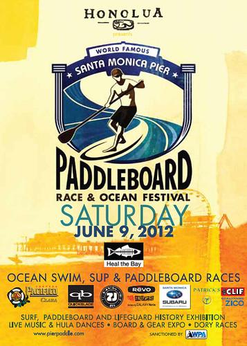 Santa Monica Pier Paddleboard Race