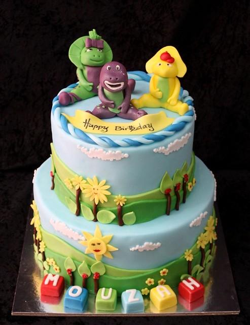 barney cake - photo #27