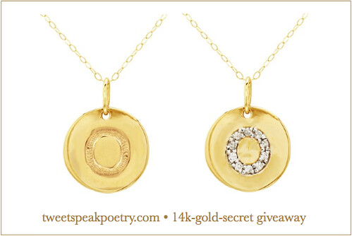 14-k-gold-secret giveaway by Tweetspeakpoetry.com
