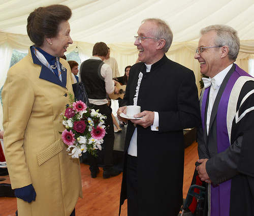 Reception Guests meet HRH The Princess Royal