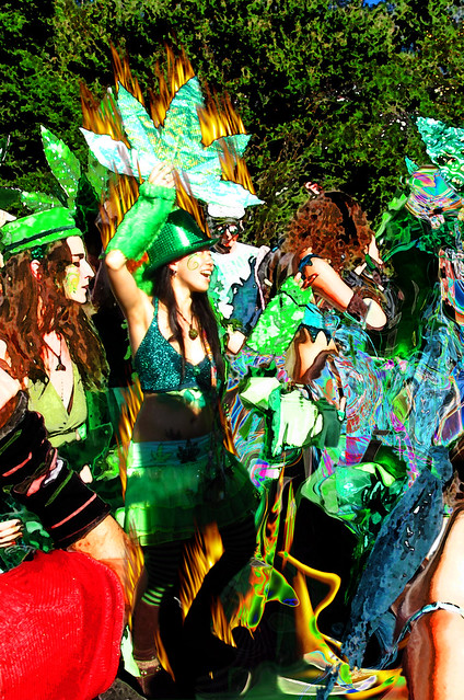 hot faerie @ the Nimbin Mardi Grass - click to enlarge