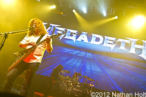 Megadeth - 05-18-12 - Deltaplex Arena, Grand Rapids, MI