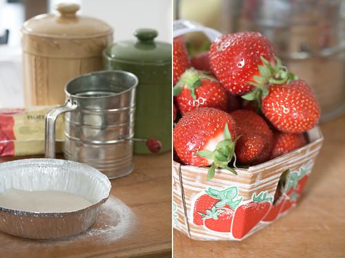 Strawberry Cake Ingredients