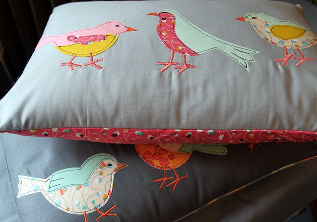 Summer Bird Pillows