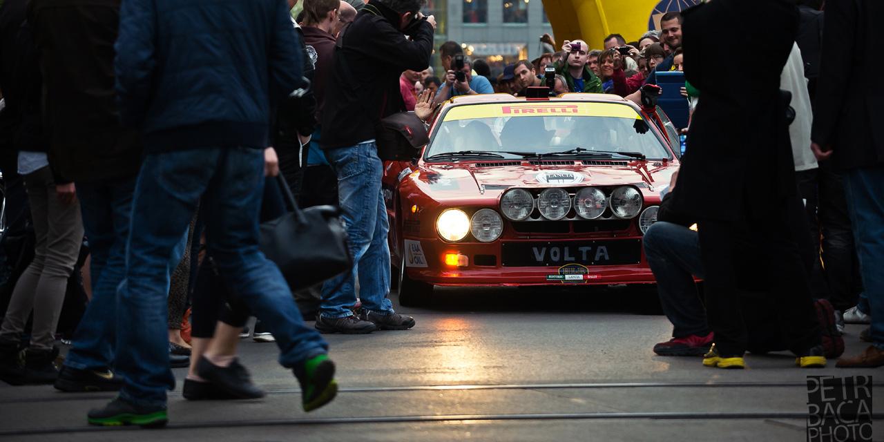 Rallye Praha Revival 2014, RPR, Eda Patera, Giuseppe Volta, Lancia 037 Rally,