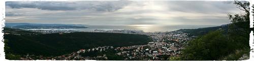 cameraphone panorama landscape view explore trieste umbertosaba note3