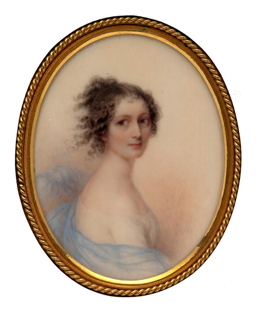 Rebecca Wetherill by George Hewitt Cushman, 1849