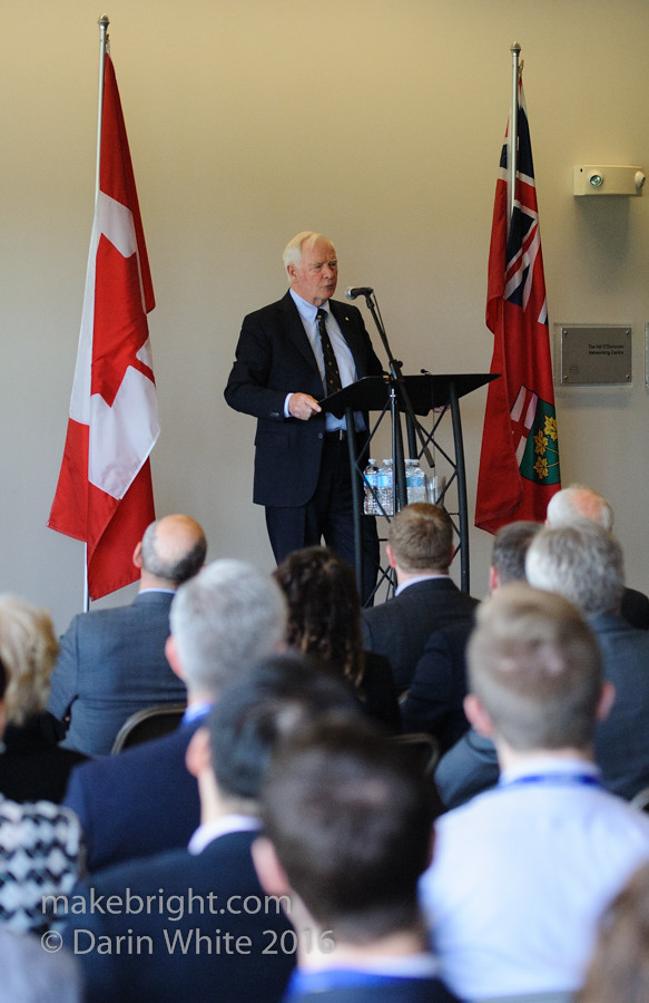 Governor General David Johnston at the AC - May 2016 352