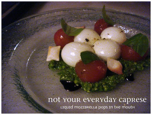 Not Your Everyday Caprese Salad, The Bazaar by José Andrés