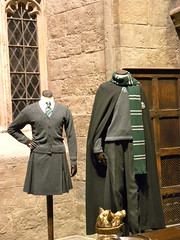 Harry Potter studio tour: Slytherin costumes
