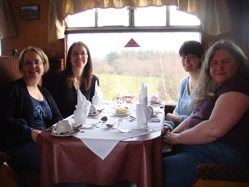 Girly Sunday Lunch on a Steam Train