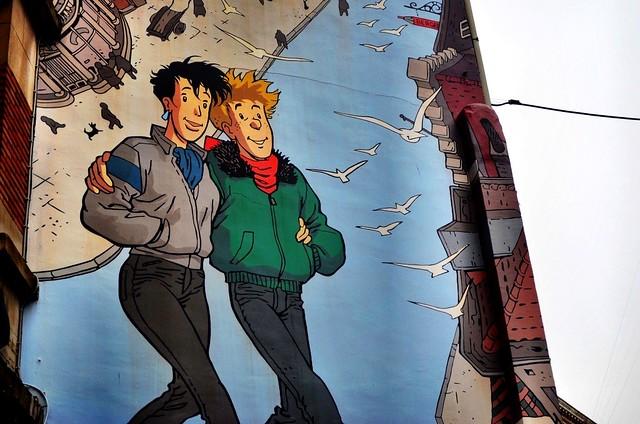 LGBT Mural, Brussels