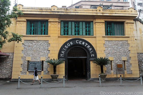 "Entrance to Hoa Lo Prison (the ""Hanoi Hilton"")"