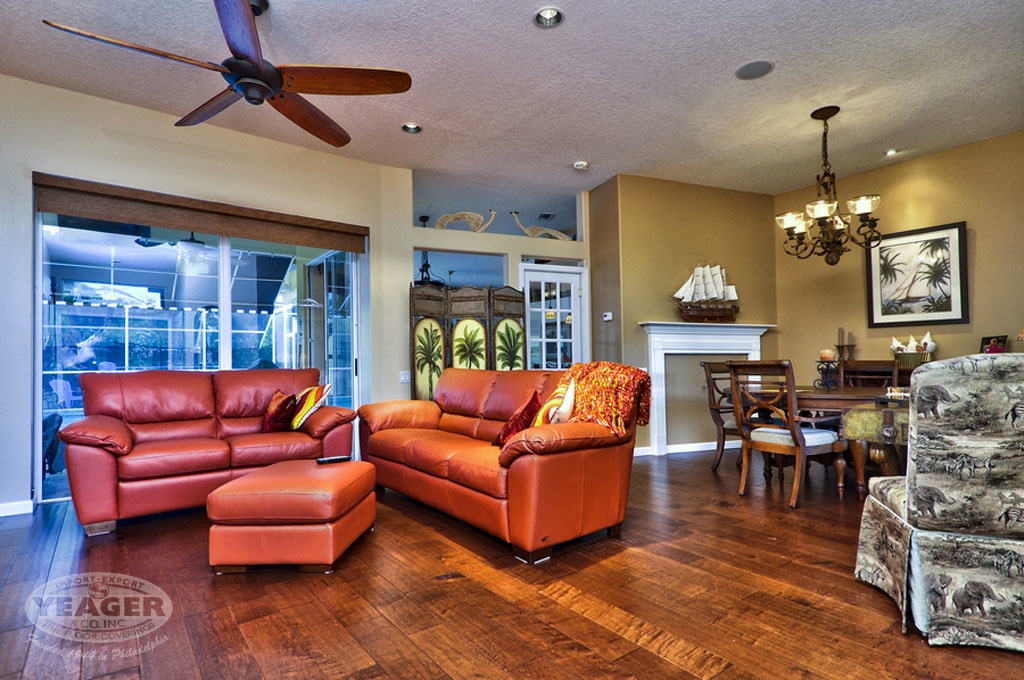 Yeager Flooring is Tampa Bay's number 1-rated hardwood and laminate flooring source.