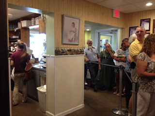 The constant line at Yoder's