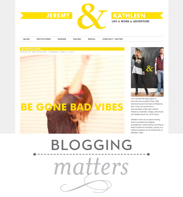 BloggingMatters